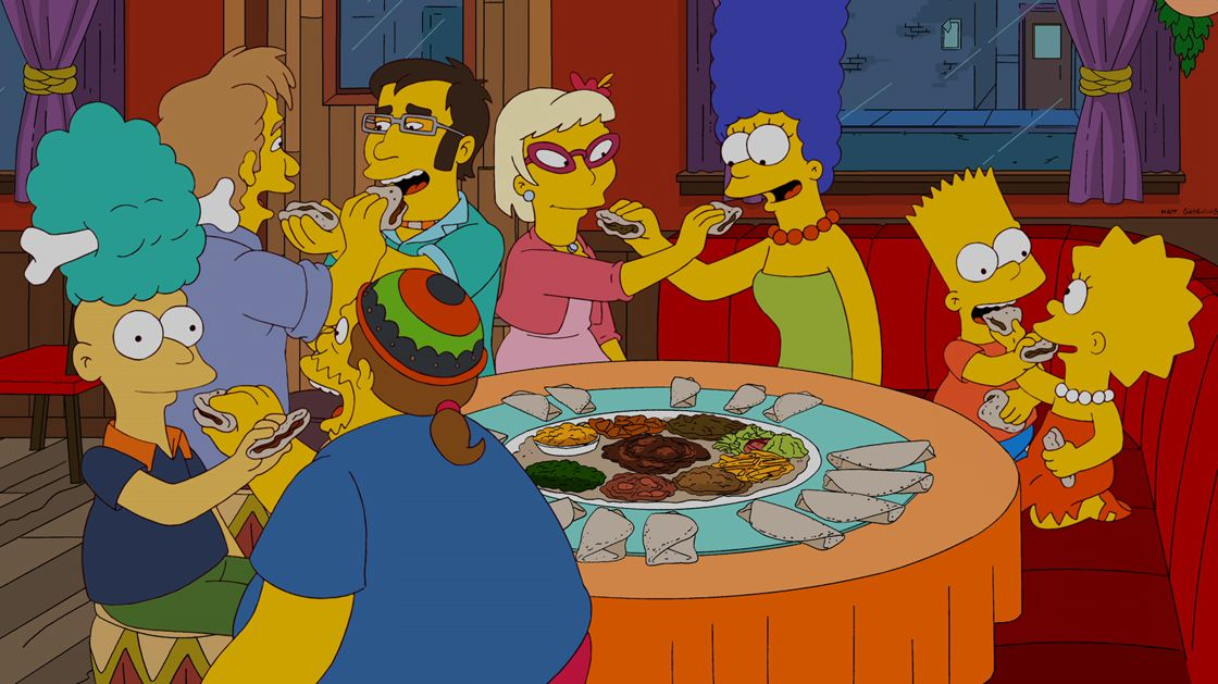 The food wife - The Simpsons